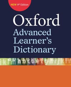 Oxford Advanced Learner's Dictionary Ninth Edition